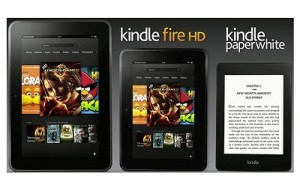 Kindle Fire HD and Kindle Paper White